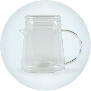 2 Cup Glass Teapot