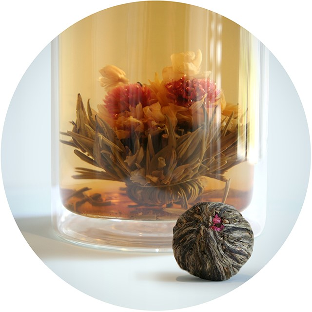 Bloom Flowering Tea - Double Happiness