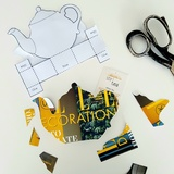 Tea Pot Gift Box Template