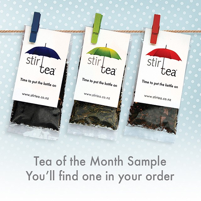 Complimentary Tea of the Moment Sample with Your Online Order